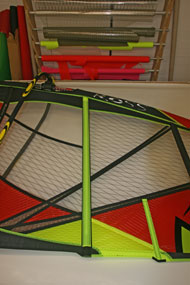 Ross Windsurf use the best quality high tech laminates and x-plys to reinforce key areas without adding weight