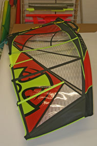 Ross Windsurf give you the choice of a wide range of colours as our sails are strictly built-to-order
