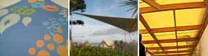 RB Sails can produce shade sails for any interior or exterior space