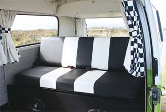 RB Sails can produce custom campervan interiors