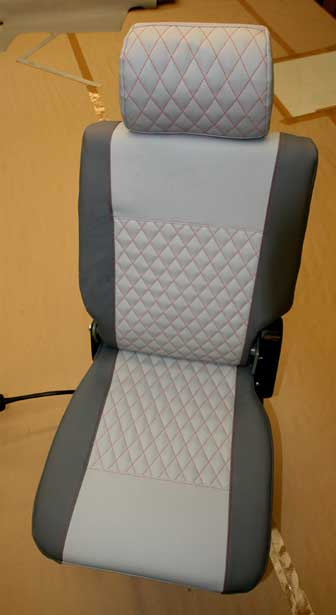 RB Sails can upholster car, van and campervan seats