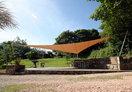 Garden shade sails from RB Sails
