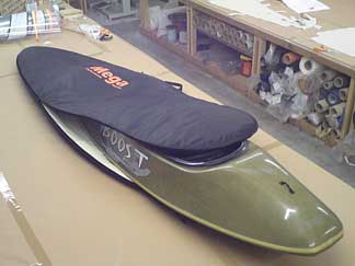 Travel bag for Mega surf kayak