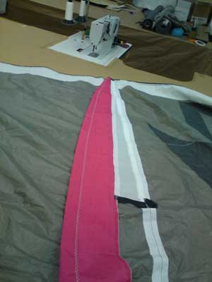 RB Sails for kitesurfing kite repair in Cornwall and the rest of the UK