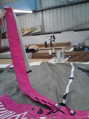 RB Sails for all your kitesurfing kite repairs