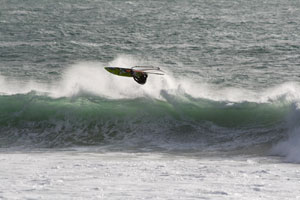 Ross test sailor goes for a monster off the lip