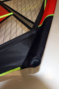Ross Windsurf use light but tough Cordura reinforcement
