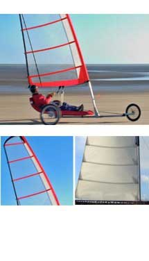 RB Sails can build sails for any specialist application or prototype